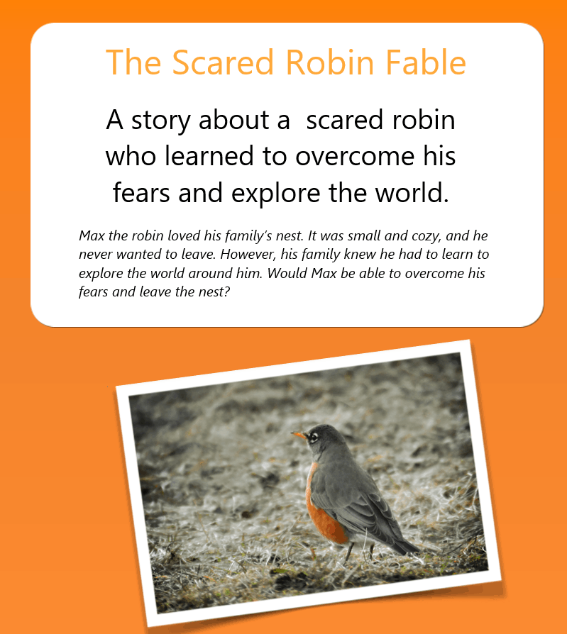 The Scared Robin Fable
