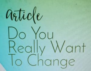Do you really want to change